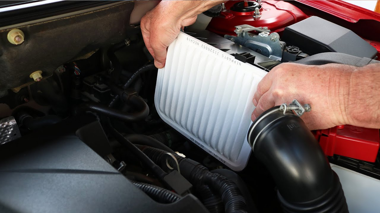 Mitsubishi Lancer Air Filter Replacement Youtube