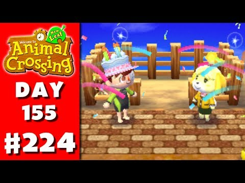 Animal Crossing: New Leaf - Part 224 - Fence (Nintendo 3DS Gameplay Walkthrough Day 155)