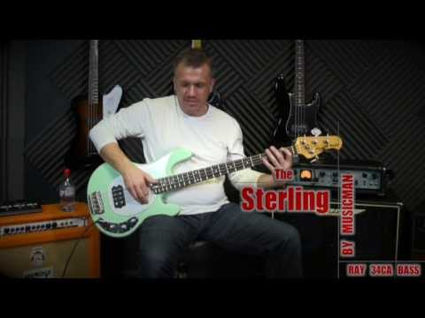 Sterling Ray 34CA Demo - An affordable Classic Stingray Bass from Music Man