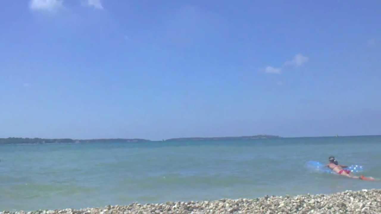 Strand In Fazana Kroatien Youtube