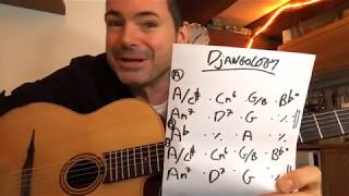 Soloing On 'Djangology' Made Easy (LIVE - replay here) - Gypsy Jazz Guitar Secrets Lesson
