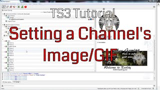 Tutorial | TS3 Setting a channel's image/GIF