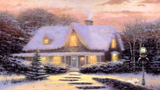 Winter in Thomas Kinkade