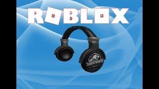 [EVENT-BİTTİ] JURASSIC WORLD HEADPHONES NASIL ALINIR?? | Roblox Creator Challange