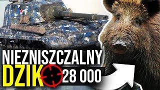 NIEZNISZCZALNY DZIK - World of Tanks