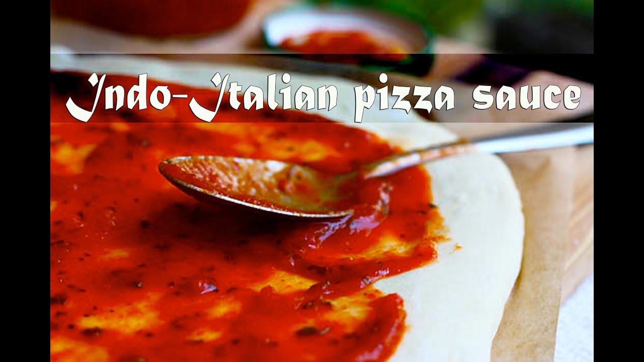indo italian pizza sauce by crazy4veggie com youtube