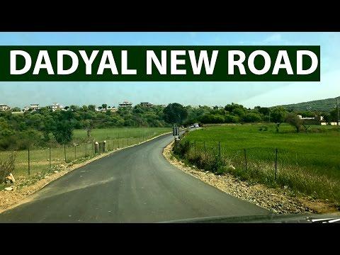 Dadyal Dangali New Road and Work in Progress 10 April 2017 | Mirpur TV, Mirpur News