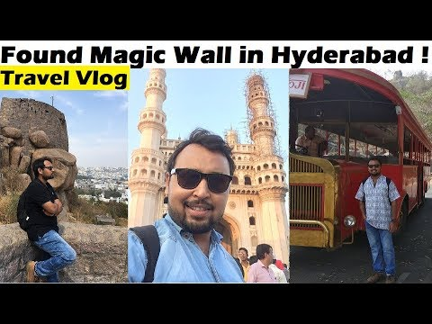 The Ultimate HYDERABAD Travel Vlog: Golconda Fort | Ramoji Film City | Charminar | Salar Jung Museum