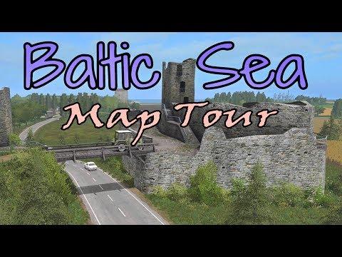 Baltic Sea (Live) | Farming Simulator 17 PS4 | Map Tour