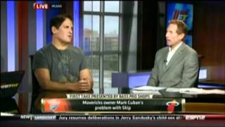 Terrell Suggs Calls Skip Bayless a Douchebag on ESPN First Take