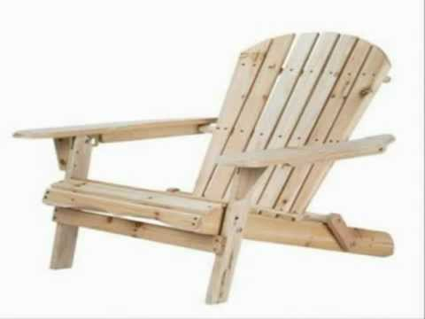 merry garden adirondack chair office with back support cushion folding wood by avi youtube