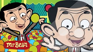 Bean's Private BALL POOL! | Mr Bean Cartoon Season 2 | Full Episodes | Mr Bean Official