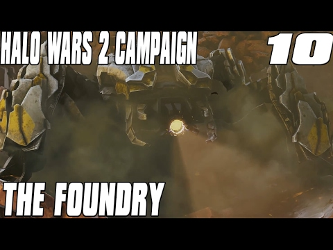 Halo Wars 2 Campaign Mission 10 The Foundry