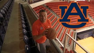 Auburn Arena Trick Shots w/ Bruce Pearl | Legendary Shots