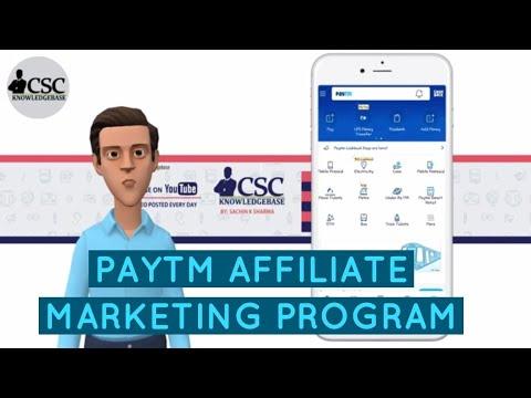 [HINDI] PAYTM AFFILIATE MARKETING PROGRAM | CSC KNOWLEDGEBASE