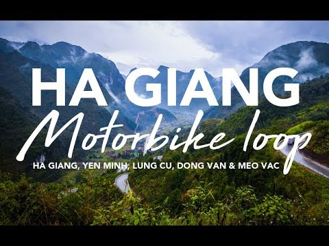 Ha Giang Motorbike loop - 3 days / 2 nights (GO Pro Session 5)