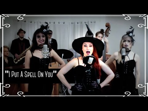 """I Put a Spell on You"" (Sanderson Sisters) Cover by Robyn Adele ft Darcy Wright and Sarah Krauss"