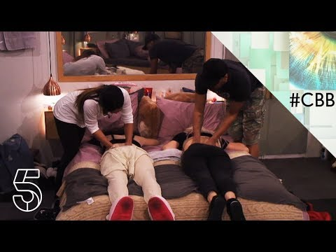 Massage Time Day  Celebrity Big Brother