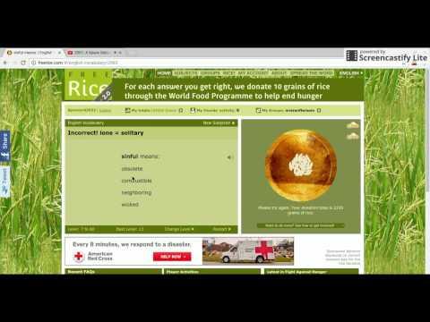 Free Rice .com