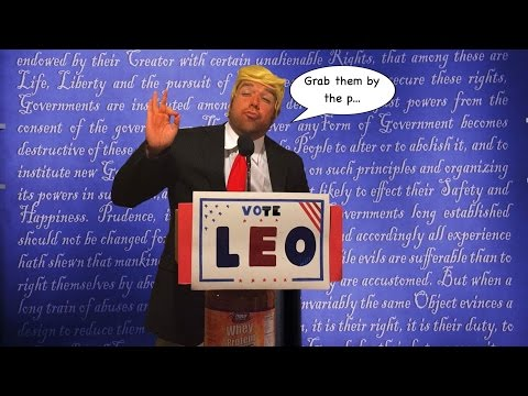 VOTE FOR LEO (Grab Them by the P...)