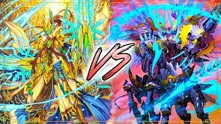 Gold Paladin (Garmore) Vs. Shadow Paladin (Luard)! Cardfight!! Vanguard G