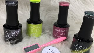 Madam Glam Reseña/Esmaltes Permanentes/Cat Eye Effect