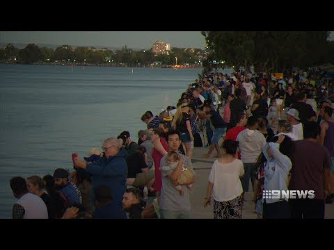 Foreshore Security | 9 News Perth