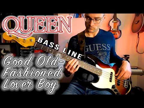 Queen - Good Old-Fashioned Lover Boy /// Bass Line [Play Along Tabs]