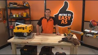 How to Build a Workbench | Mitre 10 Easy As