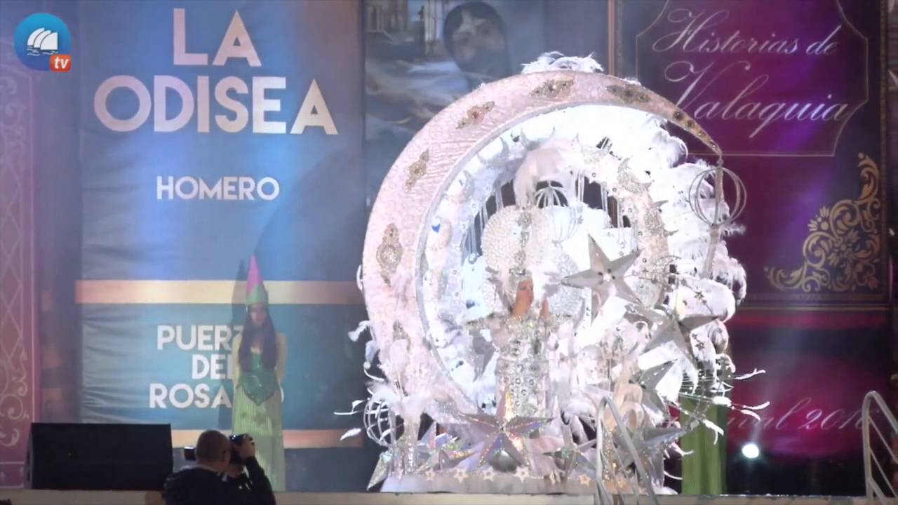 Carnavales de Puerto 2016 - Lucía Rodriguez Vera, Gala de la Reina Infantil del Carnaval
