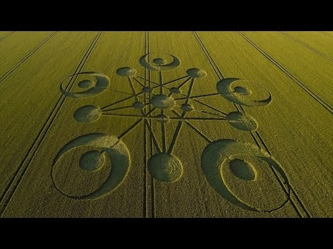 Crop Circle Mystery with A FIELD FULL OF SECRETS