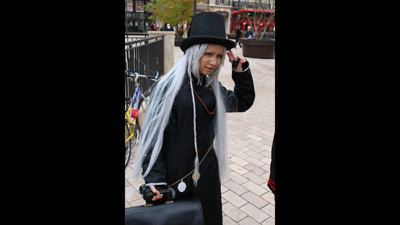 Undertaker Black Butler Kuroshitsuji Make Up Tutorial By MadPuppeteer