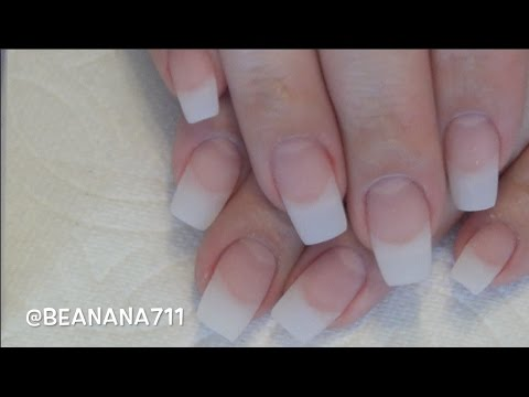 Gel Nails With Natural Tips | Full Tutorial | Soakable Builder Gel ...