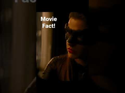 Anne Hathaway auditioned for Harley Quinn!? #shorts #moviefacts #batman #short
