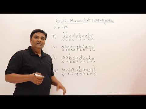 9.1 Knuth-Morris-Pratt KMP