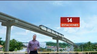 Así se verá la Línea 3 del Metro de Panamá