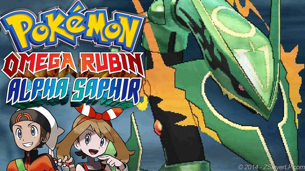 Mega Rayquaza Beherrscht Die Winde Pokémon Omega Rubin Alpha