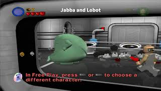 [PS2] Lego Star Wars 2 - 17 unplayable characters and one leftover menu from the demo version