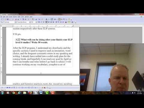 English Language Program: Verb Tense Final Exam Feedback for 6177