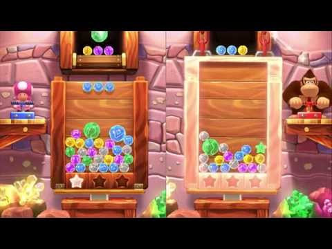 Mario Party 10 2 Player Jewel Drop (Extra minigame) Live Commentary