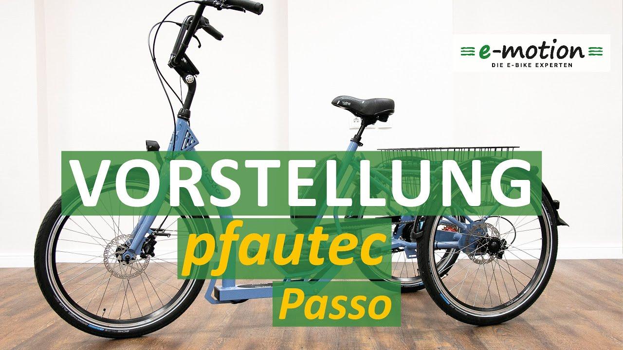 Download pfautec Passo | Mit Shimano E6100 Antrieb & Nexus Inter-5E
