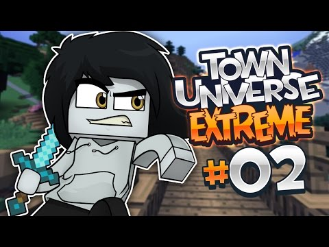 TOWN UNIVERSE EXTREME: FUNDANDO 4N1MA CITY #2 (MINECRAFT SERIE DE MODS)