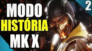 🔴 MORTAL KOMBAT X - MODO HISTÓRIA - ESQUENTA MK11 - FINAL