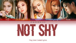 ITZY (있지) 'Not Shy' (Color Coded Lyrics)