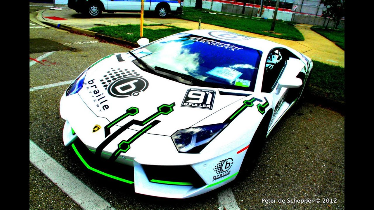 lamborghini aventador super trofeo race car lithium ion battery edition rare braille youtube. Black Bedroom Furniture Sets. Home Design Ideas