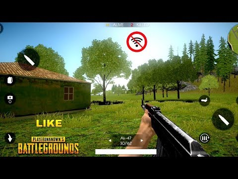 Top 10 Best OFFLINE Battle Royale Games For Android