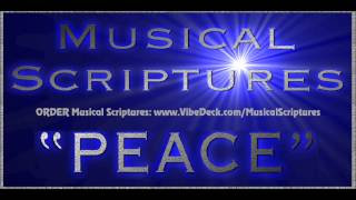 """""""PEACE"""" MUSICAL SCRIPTURES created by jonni glaser & jerry beck"""