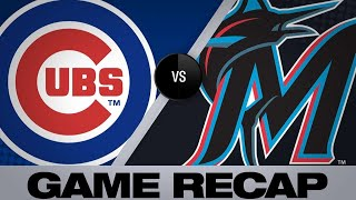 4/15/19: Cubs' offense rolls past Marlins in 7-2 win