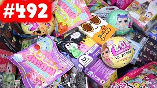 Random Blind Bag Box Episode #492 - Smooshy Mushy, LOL Surprise Pets, Num Noms 4.2, Crossy Road
