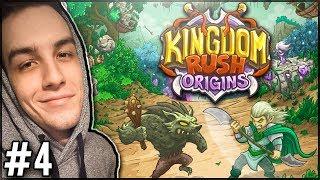 WALKA Z PIERWSZYM BOSSEM! - Kingdom Rush Origins #4